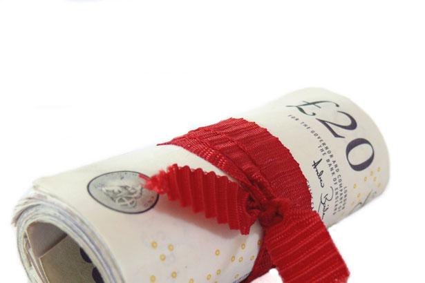 Roll Of Money by Anna Langova