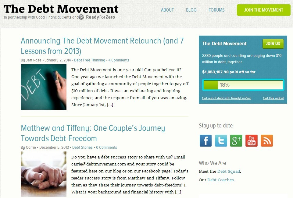 the debt management