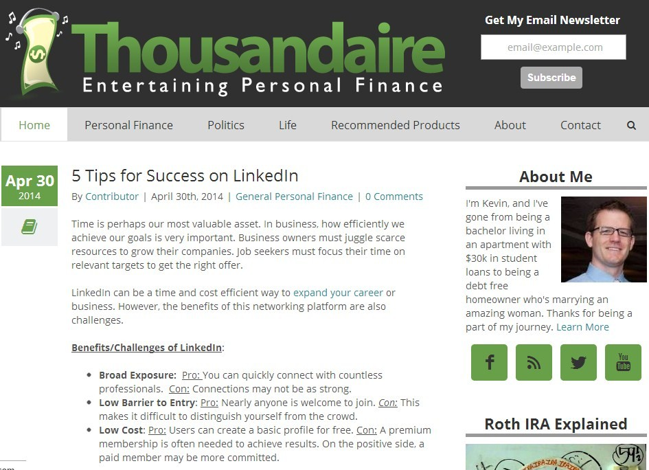 The Best Finance Blogs For Young Adult Personal Business