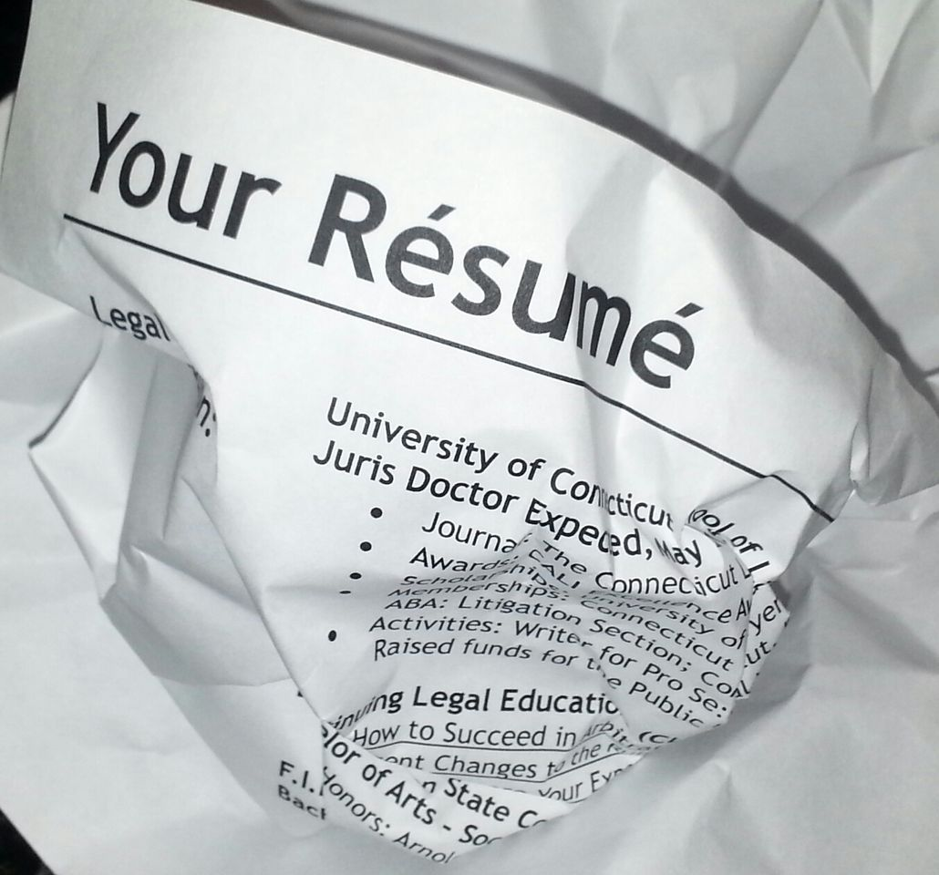 Fatal Resume Mistakes That Will Hurt Your Career