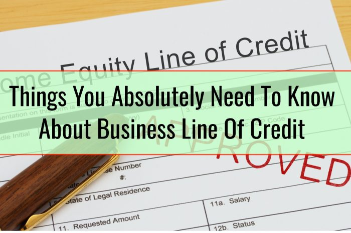 Things You Absolutely Need To Know About Business Line Of Credit